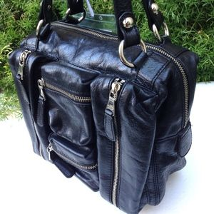 Dolce   Gabbana Bags   Dolce Gabbana Mila Black Leather Satchel Bag ... 62aca210c8